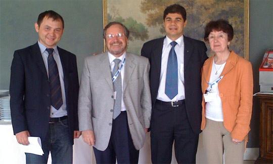 Dra. Golovleva , Carlos Apesteguia e Sergei Zinoviev