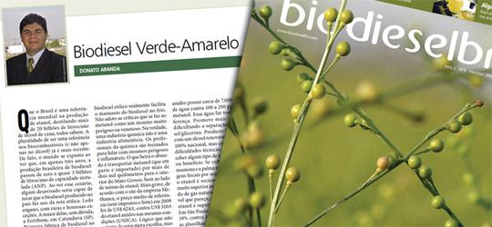 Revista BiodieselBR - Coluna Donato Aranda