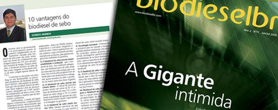 10 vantagens do biodiesel de sebo
