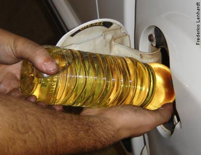 Óleo vegetal como combustível