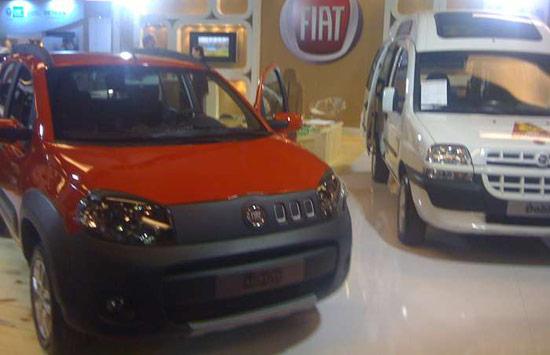 Protótipo da Fiat do novo uno com motor exclusivo a etanol