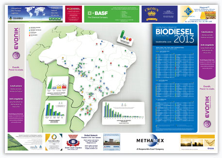 Mapa do biodiesel versão 2013
