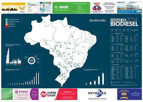 Mapa do biodiesel versão 2014