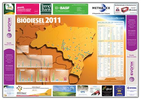 Mapa do biodiesel versão 2011