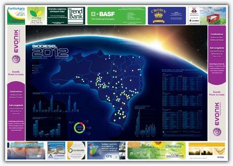 Mapa do biodiesel versão 2012